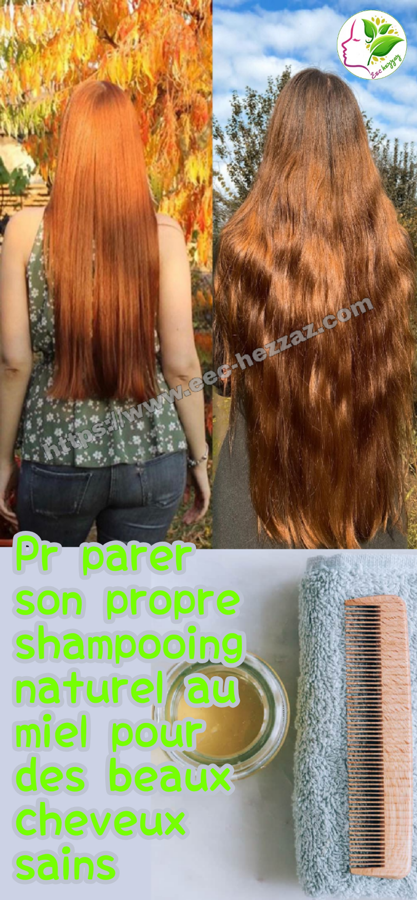 Préparer son propre shampooing naturel au miel pour des beaux cheveux sains