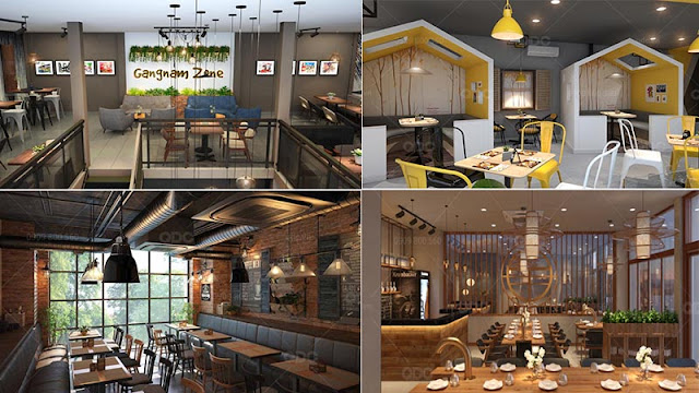 Các mẫu thiết kế nhà hàng Hàn Quốc năm 2020