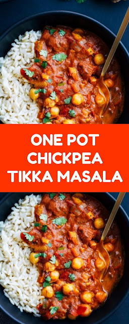One Pot Chickpea Tikka Masala