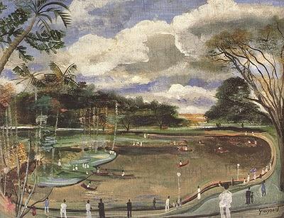 O Parque Municipal - Guignard e suas pinturas ~ Pintor de Minas Gerais
