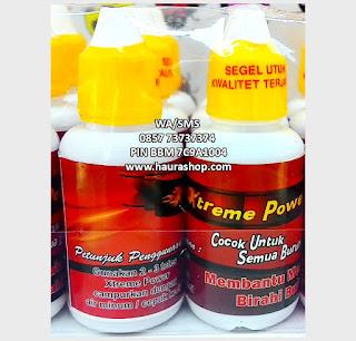 Xtreme Power adalah suplemen untuk semua burung yang berkhasiat meningkatkan birahi burung agar burung tampil lebih ngotot, volume lebih keras dan bertenaga.