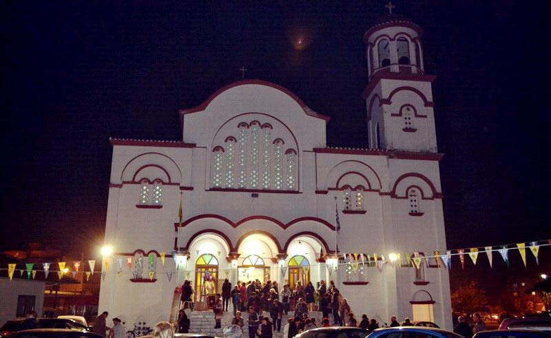Βραδυνή Θεία Λειτουργία με ομιλία στον Ιερό Ναό Αγίου Νεκταρίου Αλεξανδρούπολης