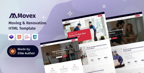Best Moving & Renovation Services Template