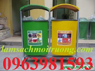 Bán thùng đựng rác, thùng rác nhựa, thùng rác công cộng giá rẻ