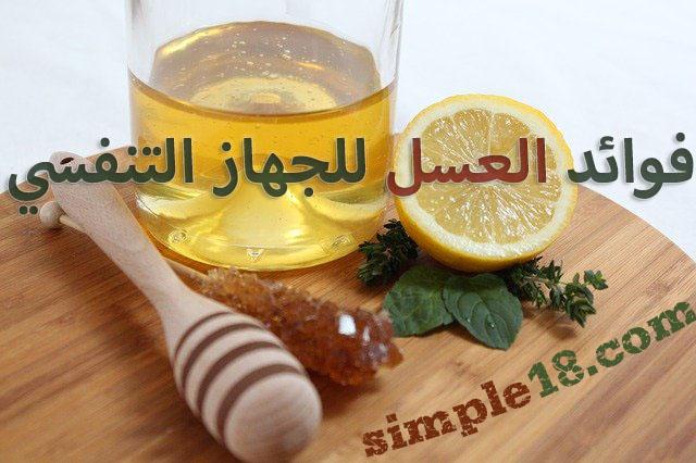 فوائد العسل للجهاز التنفسي وعلاج الحروق