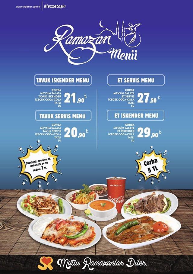 sr döner ankara iftar menüsü ankara iftar mekanları ankara restoranları