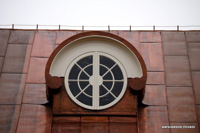 Warszawa Warsaw architektura klasycyzm Łazienki Królewskie galeria rzeźby dach