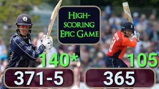 Calum MacLeod 140*   Jonny Bairstow 105 - Scotland vs England Only ODI 2018 Highlights