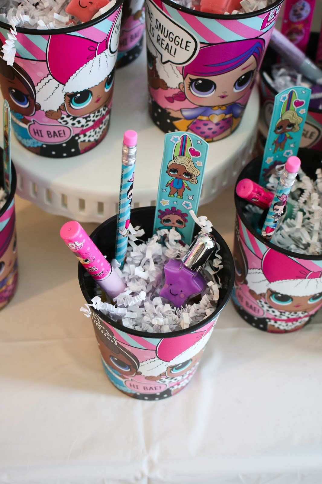 Nadia S Lol Dolls Birthday Party Was So Cute Pretty Real