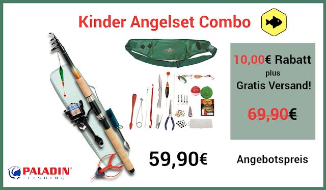 Angelset Angebot für Kinder