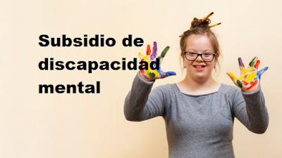Subsidio de discapacidad mental