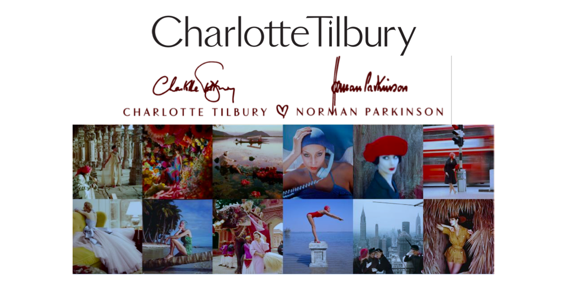 ecfefd13012 A quintessential blend of gorgeous makeup emblazoned with iconic images,  the Charlotte Tilbury x Norman Parkinson Collection is now available on ...