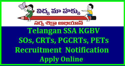 TS KGBV SOs PGCRTs CRTs Selection Lists Download