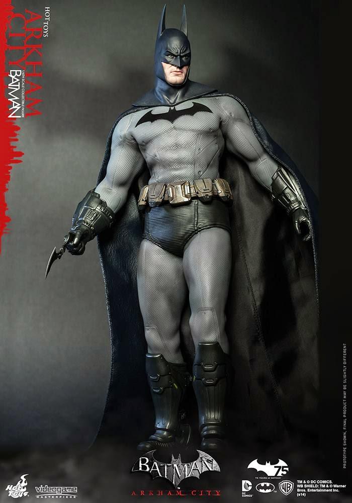 City Launcher Batman Arkham Line