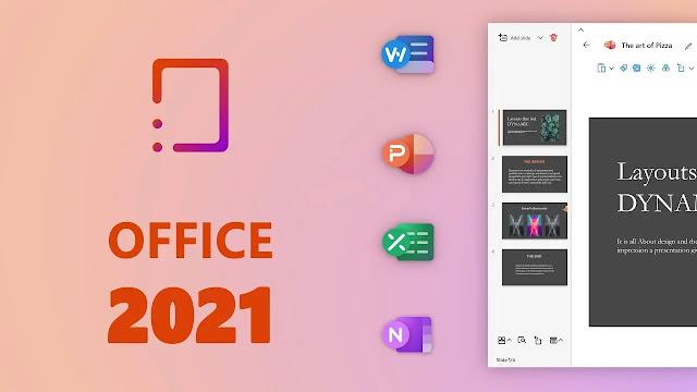تحميل برنامج Microsoft Office Professional Plus 2021 مفعل جاهز بالكراك النضيف الاصدار الاخير