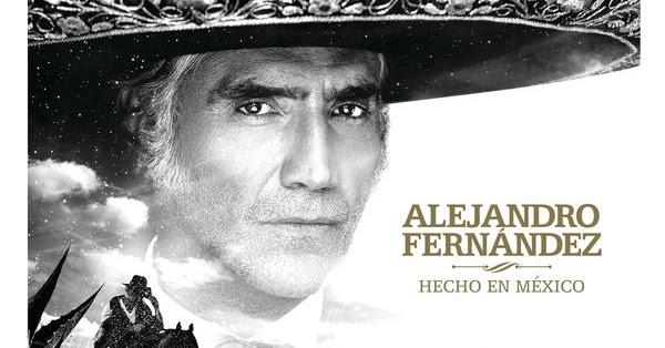 Cd Jaquette Alejandro Fernández Hecho En México