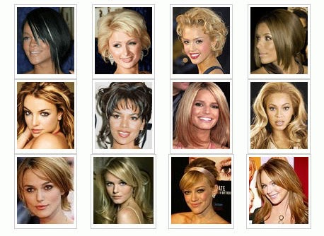 Haircuts for each face