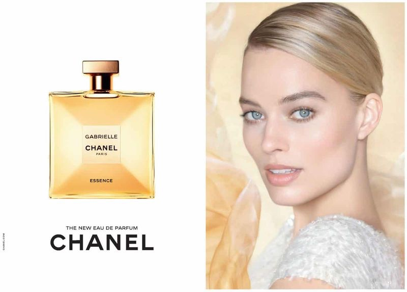 Actress Margot Robbie fronts Chanel Gabrielle Essence perfume campaign