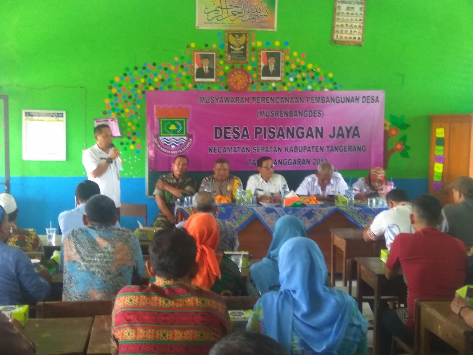 Musrenbagdes Pisangan Jaya, Masih Prioritaskan Pembangunan Infrastuktur