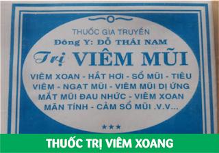 BÁN THUỐC TRỊ VIÊM XOANG TỐT TPHCM