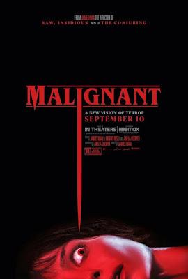 Malignant 2021 DVD BD NTSC Latino