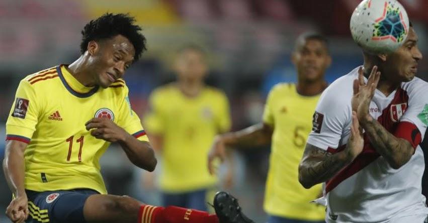RESULTADOS PERÚ Vs. COLOMBIA: Selección peruana perdió (1-3) y queda último en la tabla de posiciones