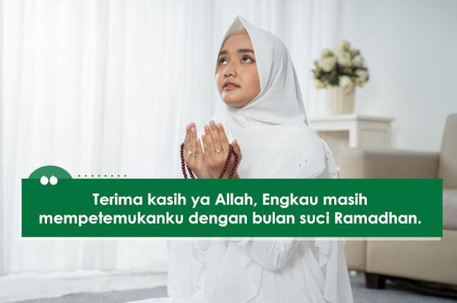 Bersyukur Masih Dipertemukan Bulan ramadhan