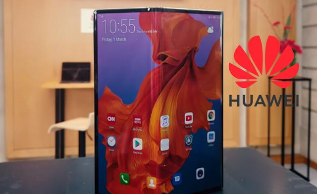 Huawei ستطلق  هاتفها الذكي Mate X القابل للطي  باستخدام Android
