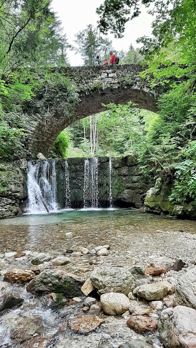 sentiero dell'acqua