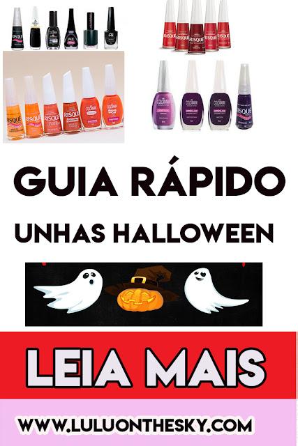 Guia Rápido: Esmaltes para o Halloween