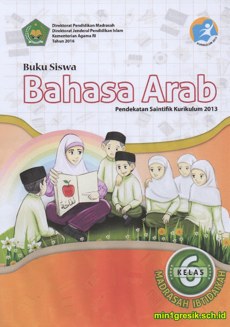 buku siswa mata pelajaran bahasa arab kelas 6 kurikulum 2013