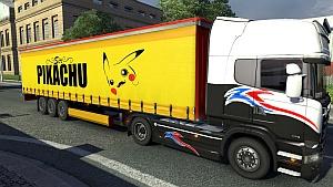 Pikachu trailer mod