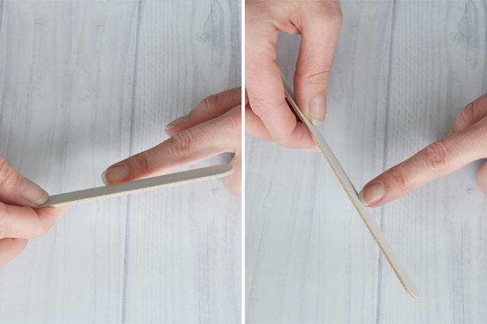 Step 4: file nails