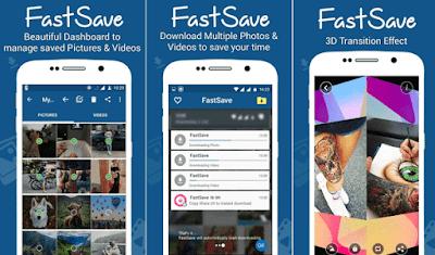 menyimpan atau mendownload foto dan video instagram secara cepat untuk pengguna android