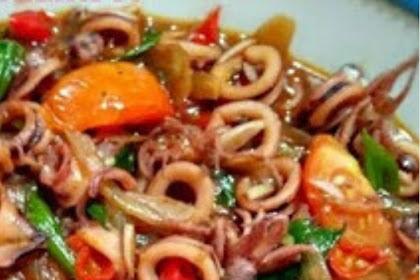 Padang Squid Sauce Recipe