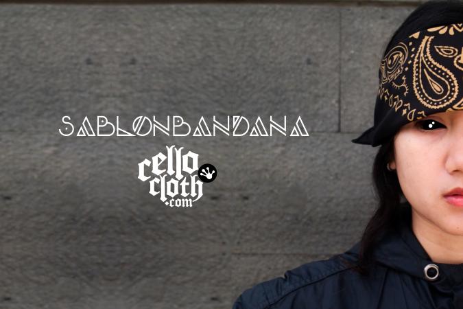 sablon bandana, sablon bandana distro, bandana fullprint, bandana full color, bandana unlimted color, bandan custom