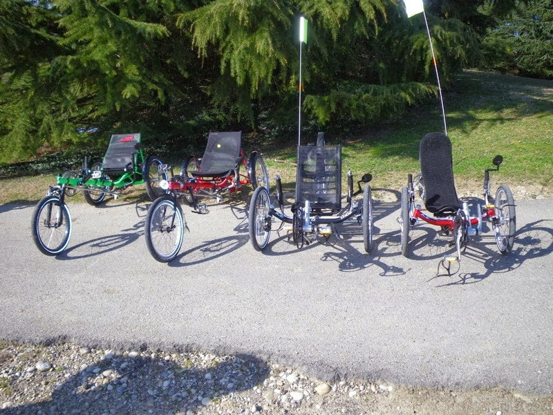 Penny pincher journal fitness delta recumbent trikes left and tadpole recumbent trikes right image courtesy of cacou via wikimedia commons fandeluxe Gallery