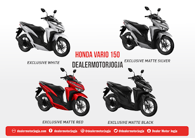 Spesifikasi Lengkap Honda Vario 150 eSP 2018