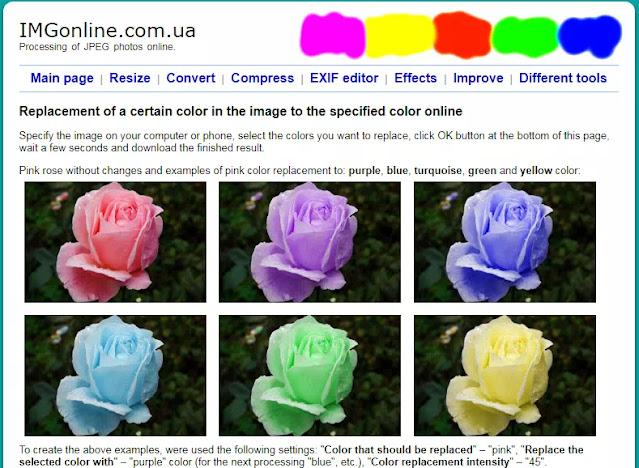 Cara Mengganti Warna Gambar Pada Bagian Tertentu Secara Online-2