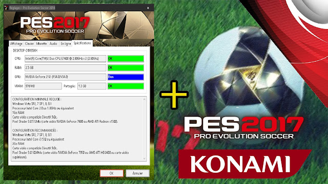 ultigamerz: PES 2017 System Requirements Released