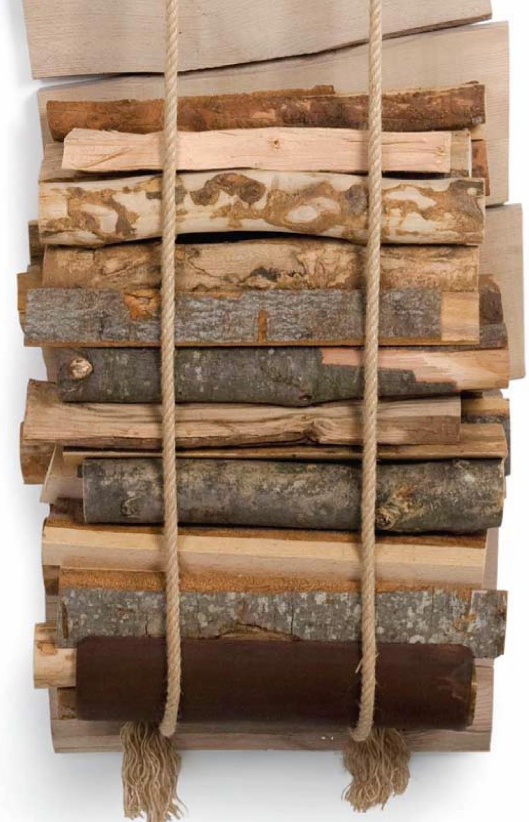 Ideas para almacenar la madera le eros c sas de pel cula - Leneros de madera ...