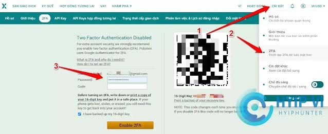 Xác thực bảo mật 2 lớp 2FA