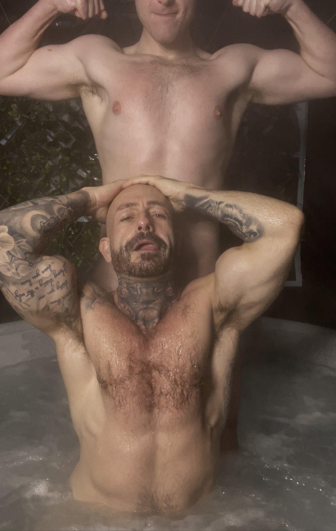 sexo en el sauna calientes