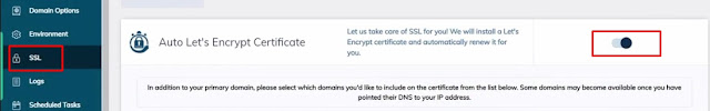 How to enable the free SSL certificate on Liquid web hosting website easily from their dashboard.