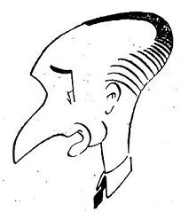 Caricatura de Joaquín Gil