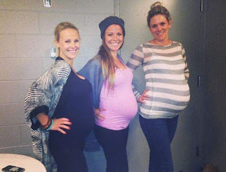 Kelly During Her Pregnancy