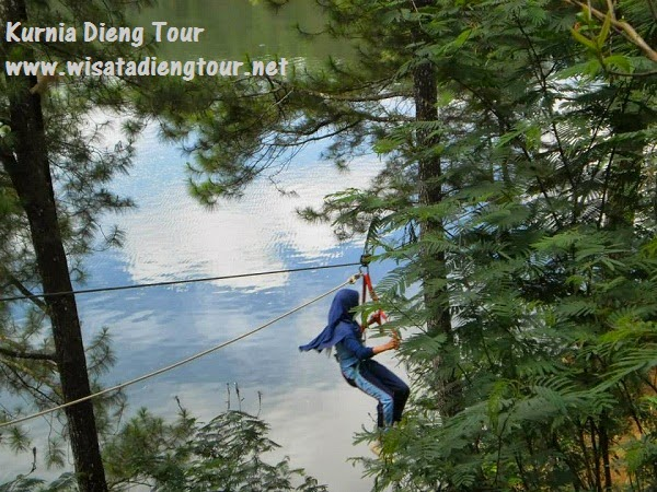flyingfox outbound dieng wonosobo
