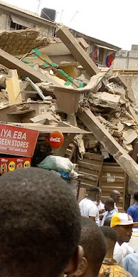 Rescue Efforts Continue At Site Of Latest Collapsed Lagos Building