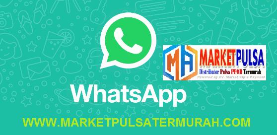 Cara Transaksi Pulsa Via WhatsApp di Market Pulsa