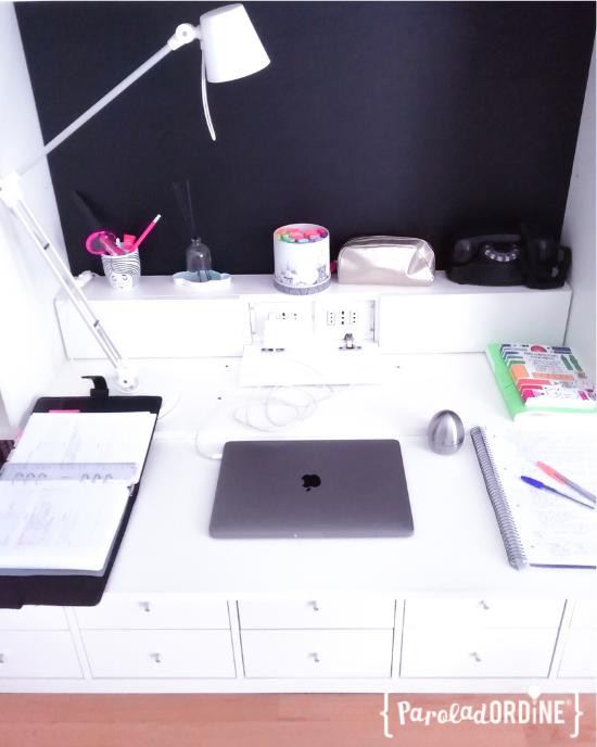 Paroladordine spazio come ho organizzato la scrivania professional organizer
